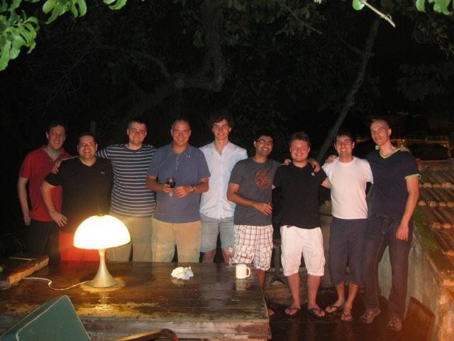 The Quantum Crew. Santa Teresa, Brazil. June 2014.